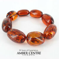 Genuine German Amber Bracelet W105 And Rrp£525