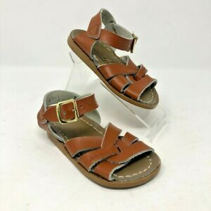 Hoyway Brown Leather Sandals Shoes