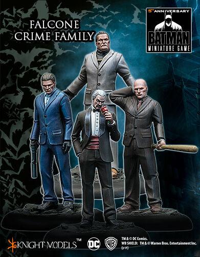 KNIGHT MODELS DC FALCONE CRIME FAMILY UNIVERSE MINIATURE Juego METAL NEW