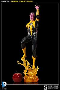 Sinestro Green Lantern 1/4 Premium Format Statue Dc Comics Sideshow RegelmäßIges TeegeträNk Verbessert Ihre Gesundheit Sammeln & Seltenes Marvel-superhelden