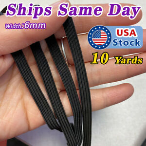 1 4 Elastic Band For Sewing Face Mask 10 Yards Elastic String