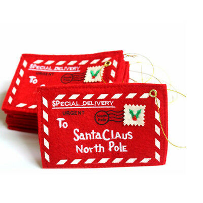 Christmas Envelope Candy Card Bag Gift Christmas Tree Hanging Party Decoration