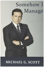 Notebook Somehow I Manage By Michael Gary Scott The Office