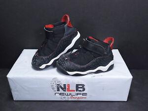 Image is loading Nike-Jordan-Retro-6-Rings-323420-020-BlackWhiteRed- 888ff85ba