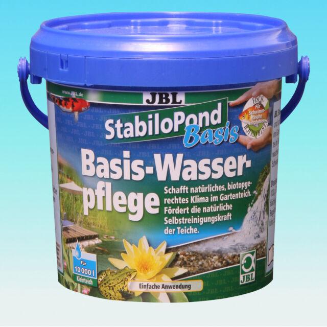 JBL StabiloPond Basis 1 kg  für 10000 l Teiche Teichpflege ohne Algenprobleme