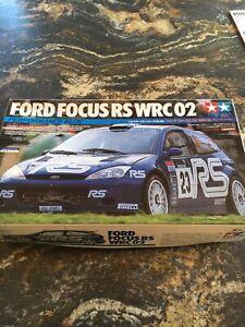 Tamiya-Scale-1-24-Ford-Focus-Rs-Wrc-02-Unbuilt-Model