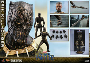Hot-Toys-Erik-Killmonger-panthere-noire-Marvel-1-6-Scale-Figure-en-stock-Dbl-Box