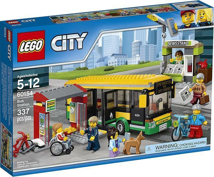 LEGO città  (60154) Autostazione (& Nuovo Di Zecca Sigillato in fabbrica)  promozioni eccitanti