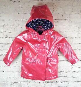 bd5d337f3 Baby Gap GIRLS Lined Rain Coat Jacket 3 years - EUC