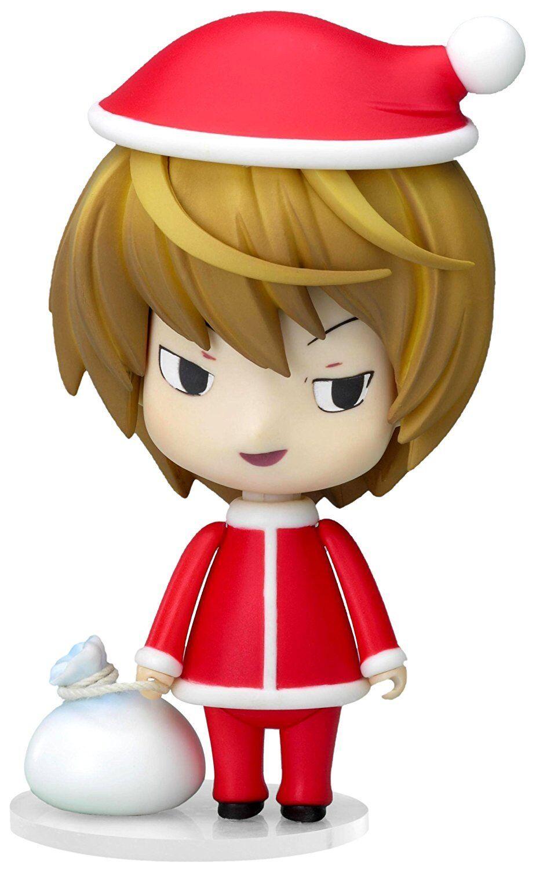 Nendoroid 030 Death Note Luminosa Yagami Santa Ver. Statuetta Good Smile