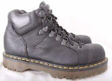 Dr. Martens Doc 10963 Black 8 Eye Stitched Work Boot Men's UK 7 US 8 Women's 9