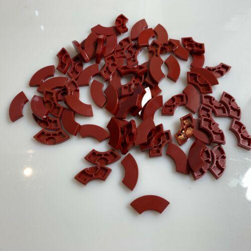 27925//6172632 macaroni 75 NEW LEGO New Dark Red Tile 2X2 W//Bow