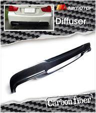 Carbon Fiber 3D Rear Diffuser Quad for BMW E90 E91 M Tech M Sport Bumper 4 Tips