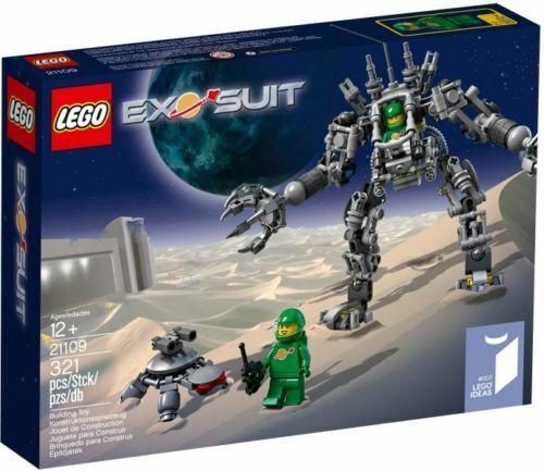 LEGO IDEAS 21109 Exo Suit - Robots, 321 pcs, Descatalogado NUEVO   NEW