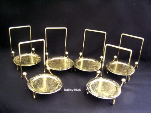 "7/"" Black Wood Easel Plate Medium Display Stand QUALITY ITEM Tripar 23-1202"