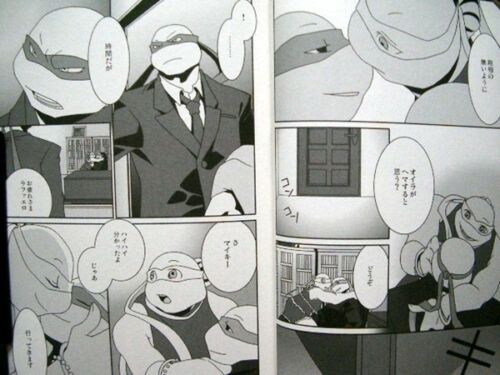 Teenage Mutant Ninja Turtles doujinshi FROM DUSK TILL DAWN Tungsten 132pages A5