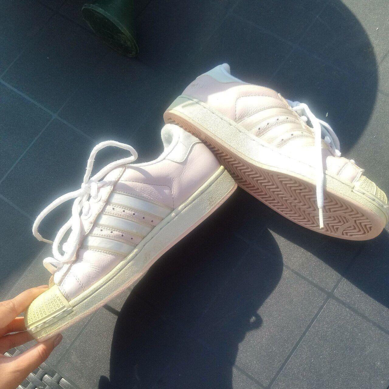Originali adidas superstar dei formatori, le dimensioni 6-rosa & bianca | Outlet Store Online  | Uomo/Donna Scarpa