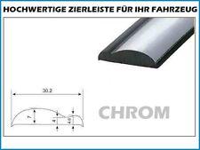 10m Zierleiste 30mm Zierblende Chrom Kantenschutz Abdeckleiste Selbstklebend