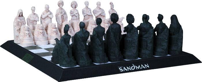 THE THE THE SANDMAN  Cold-Cast Porcelain Chess Set (DC Comics)  NEW 2f2d62