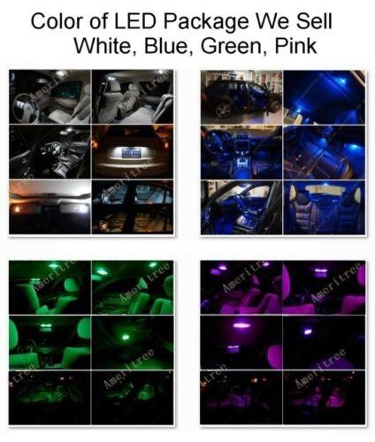 For Mazda 3 2010-2013 Xenon White LED Interior kit White License Light LED