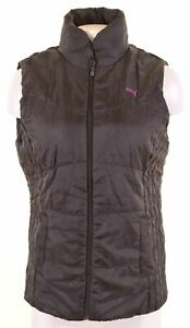 PUMA-Womens-Gilet-UK-12-Medium-Black-Polyester-NS33