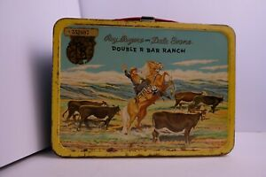 Vintage Roy Rogers And Dale Evans Double Bar Ranch Lunchbox