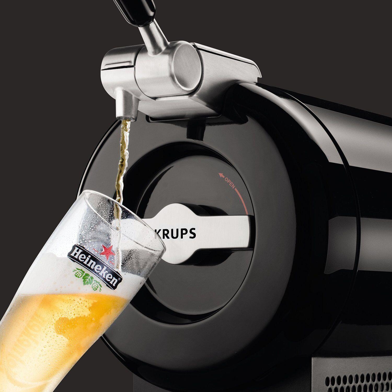 Tirador de cerveza Dispensador para Barriles de 2 Litros Bomba de Presión Krups
