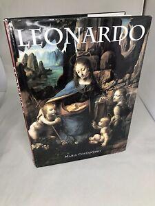 Costantino-Maria-Leonardo-Da-Vinci-LEONARDO-1st-Edition-2nd-Printing-HC-DJ
