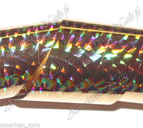 Rouleau de foil 2,5 x 150 cm Nail Art foils decoration Ongles
