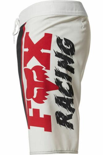 "Fox Racing Victory Stretch 17"" Youth Kids Black swim /& surf shorts Size 24 inch"