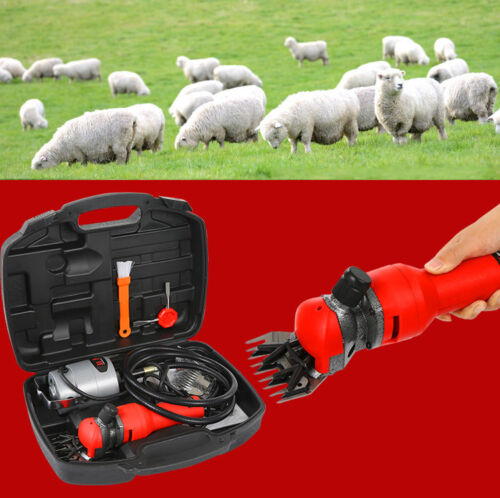 220V Electric Flexible Shaft Sheep Wool Shearing Clippers Goat Clipper Shears