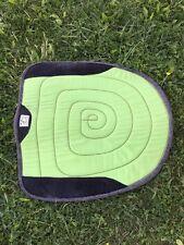 Diamond Wool saddle pad Round Skirt Lime Green PREOWNED