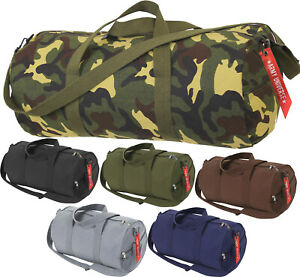 Image is loading Camo-Tactical-Shoulder-Bag-Sports-Canvas-Gym-Weekend- c4bb082682b