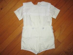 Michael-James-Dress-outfit-Shirt-Buttons-onto-Shorts-size-2t