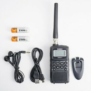 UNIDEN EZI-33XL Receiver Scanner, Portable Am-Fm For 78-512 MHZ 800103