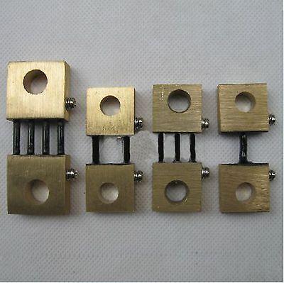 (1)Metal Shunt Resistor for DC 100-300A 75mV Current Ammeter Analog Panel Meter