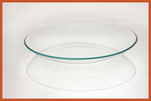 "8"" Bowl Clear Glass 1/8"