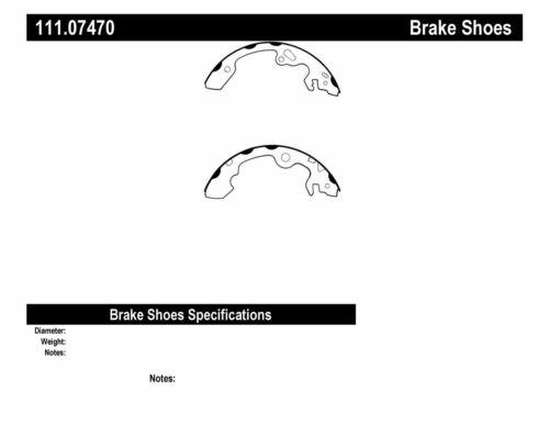 Drum Brake Shoe-Premium Brake Shoes-Preferred Rear Centric fits 00-11 Ford Focus