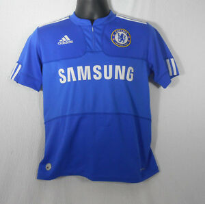 timeless design afe4f f3796 Details about Chelsea FC Club Soccer jersey adidas Clima Cool Kids Large