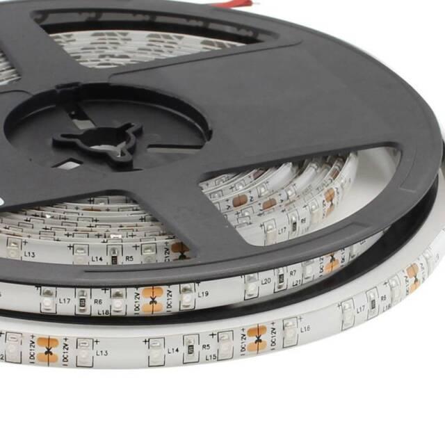 LEDBOX Tira LED UV, Ultravioleta SMD3528, DC12V, 5m (60 Led/m) - IP65  Luz