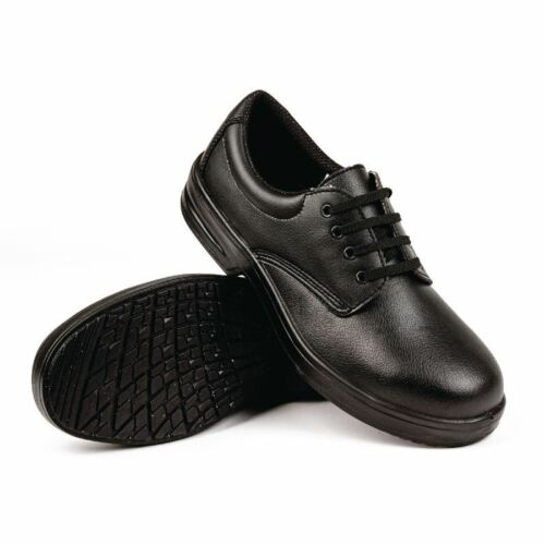 Lites Mens Womes Safety Lace Up Shoes Comfortable Uniform Work