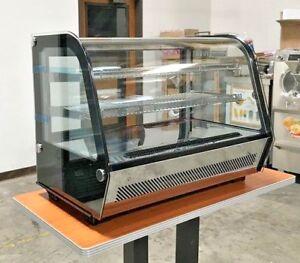 Countertop Refrigerated Display Showcase Bakery Pastry Deli Case Ebay