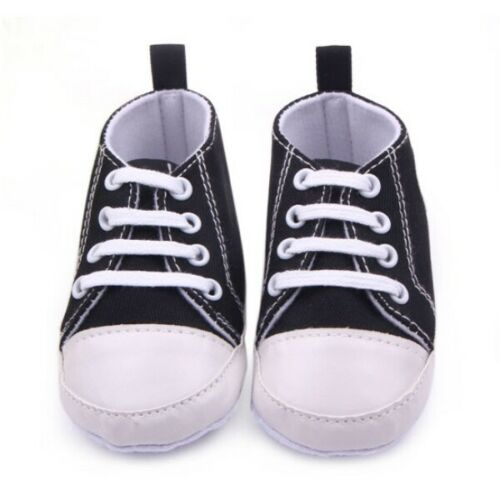 Newborn Baby Infant Shoes Soft Sole Crib Shoes Toddler Casual Sneakers 0-12M UK