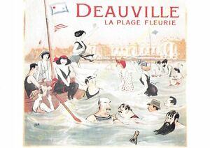 Postcard Ads Advertising Deauville Edit Clouet T8
