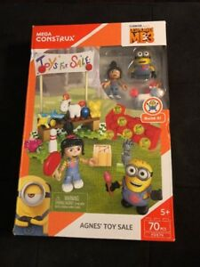 MEGA-Construx-Despicable-ME3-Agnes-039-Toy-Sale-NEW