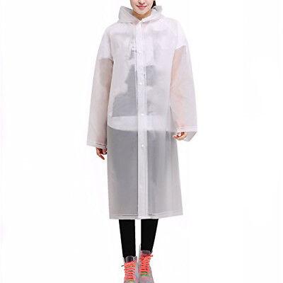 Disinteressato Adulti Impermeabile In Plastica Monouso Pioggia Poncho Con Cappuccio Da Uomo Donna-mostra Il Titolo Originale