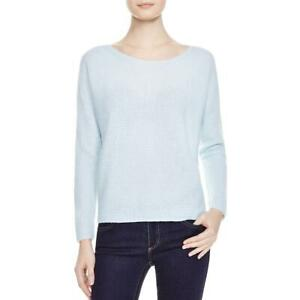 Joie-Womens-Cashmere-Long-Sleeves-Scoop-Neck-Pullover-Sweater-Top-BHFO-3882
