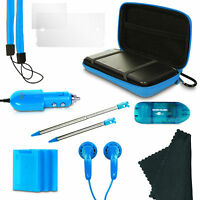 Nintendo 3ds 13 In 1 Gamer Pack Starter Kit - Blue