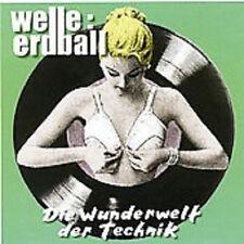 """WELLE ERDBALL """"WUNDERWELT DER TECHNIK"""" CD NEUWARE!"""