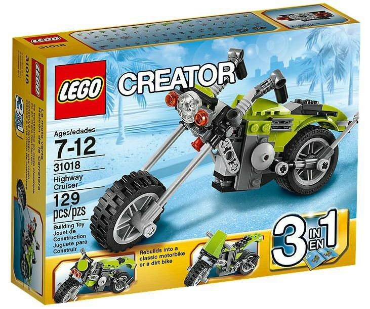 LEGO ® Creator 31018 CHOPPER NUOVO OVP _ Highway CRUISER NEW MISB NRFB